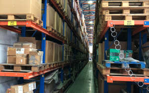Wieland Aviation Warehouse for Spare Parts